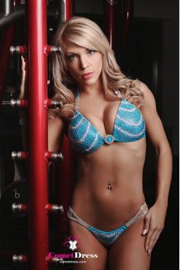Gizelle fitness bikini