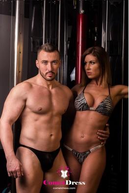 Safari fitness bikini
