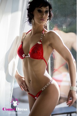 Fire fitness bikini